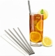 Stainless Steel SMOOTHIE Straws (STRAIGHT) - 8mm wide