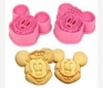 MICKEY & MINNIE MOUSE cookie cutter set / cookie stamps / imprint cutter