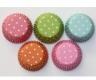 Polka Dot Cupcake Liner / Paper Baking Cups - 50pcs