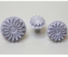 Fondant plunger cutter GERBERA / SUNFLOWER - set of 3