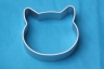 CAT HEAD cookie cutter - metal