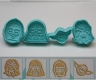 Fondant plunger cutter Star Wars - set of 4