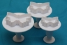 Fondant plunger cutter BUTTERFLY- set of 3