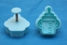 Fondant plunger cutter BABY BOTTLE
