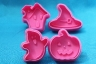 Fondant plunger cutter HALLOWEEN - set of 4