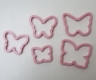 Butterfly Cookie Cutter / Sandwich Cutter - set of 5