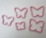 Butterfly Cookie Cutter / Sandwich Cutter - set of 5