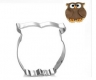 OWL cookie cutter - metal