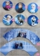 FROZEN - cupcake wrappers and toppers set of 12 (24pcs) - SET B