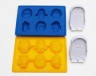 2x MINIONS silicone ice mould & 2x cookie cutter