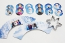 FROZEN - Cupcake Wrappers and Toppers set of 12 (24pcs) & Snowflake Cookie Cutter