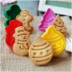 Fondant plunger cutter CHRISTMAS - set of 4
