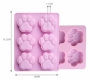 CAT PAW / DOG PAW Chocolate Mould / Ice Tray / Cake Tin / Soap Mould - 6 Cavity  Silicone Cube Tray