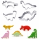 DINOSAUR cookie cutter - set of 4