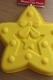 CHRISTMAS STAR silicone cake tin cake mould  - LARGE