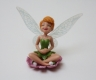 Fairy Cake Topper - sitting Tinkerbell
